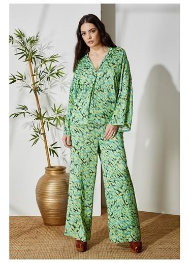 Vekem-Limited Edition Pantolon Yeşil